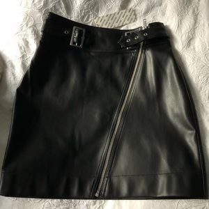 NWT Urban Outfitters Leather Mini Skirt